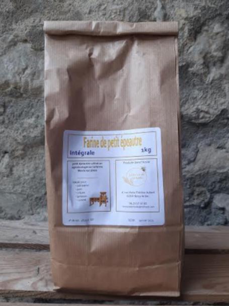Farine de Léchelle, farine petit épeautre 1kg