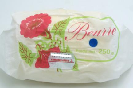 La ferme du moulin, beurre doux 250 g