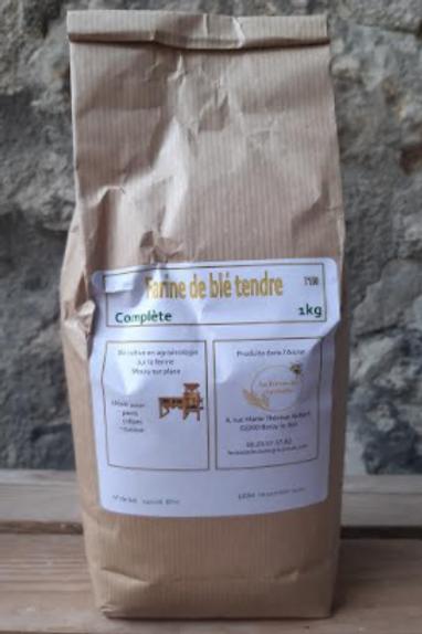 Farine de Léchelle, farine complète 1kg