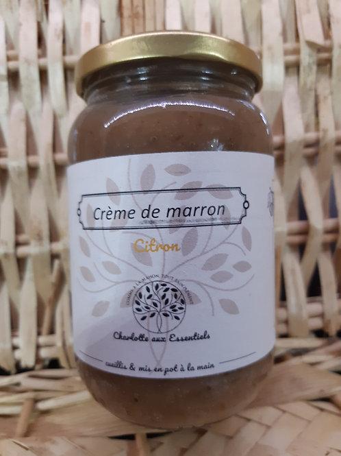 Charlotte aux essentiels, crème de marron citron 450g
