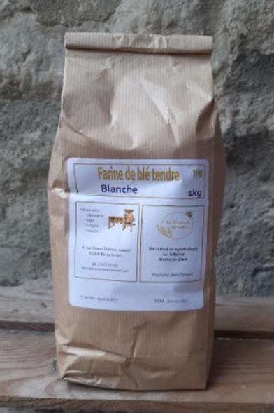 Farine de Léchelle, farine blanche 1kg