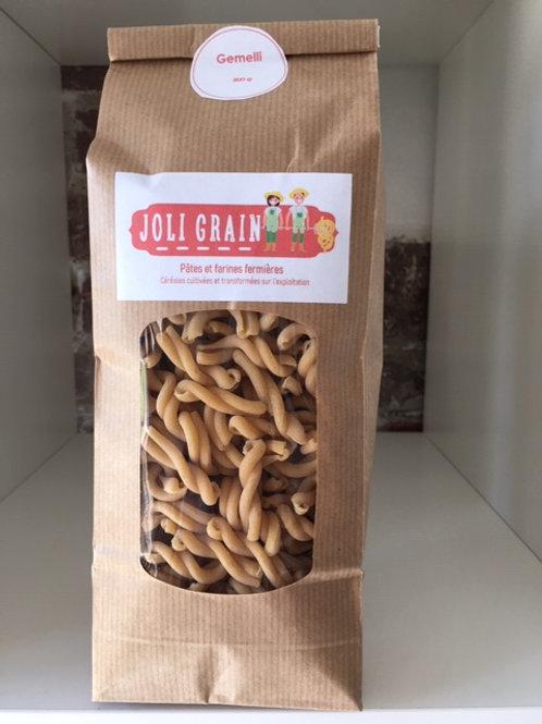 Joli Grain, pâtes Gemelli, 500g