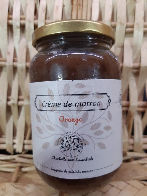 Charlotte aux essentiels, crème de marron orange 450g