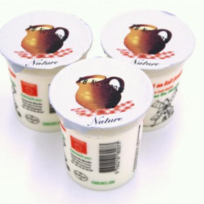 La ferme du moulin, yaourt au lait entier nature 125 g