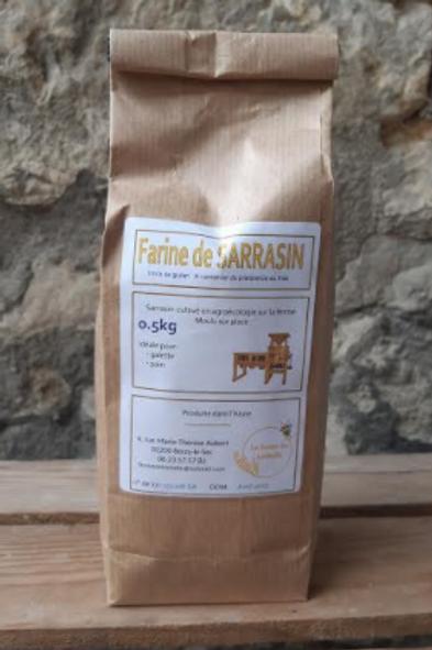Farine de Léchelle, farine sarrasin, 500 g