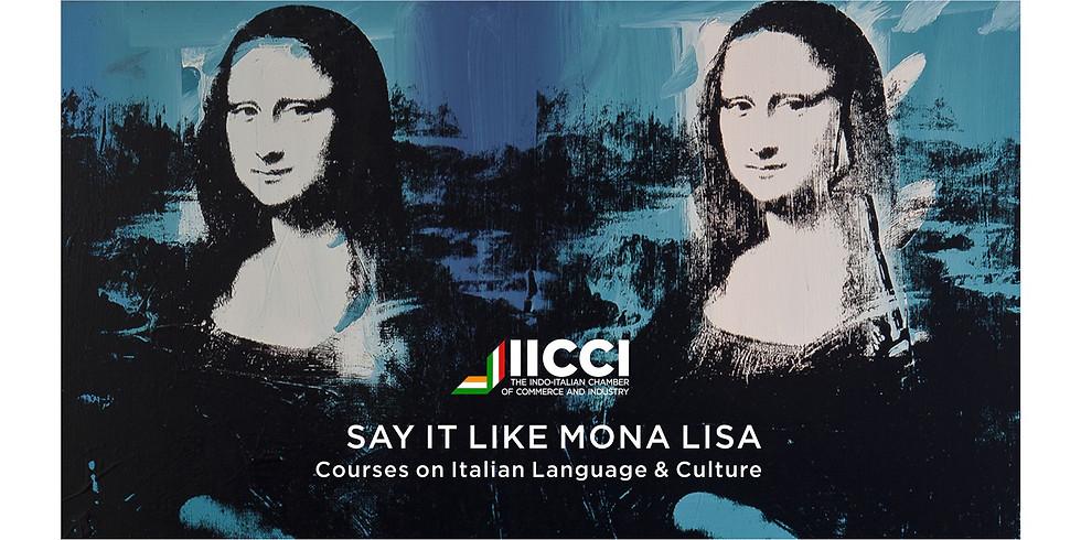 Italian Language Class Level 2 Chennai