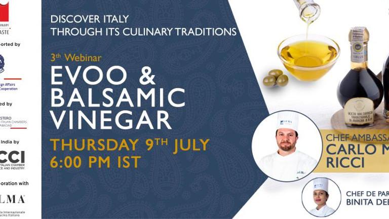 Italian EVOO and Balsamic Vinegar - True Italian Taste