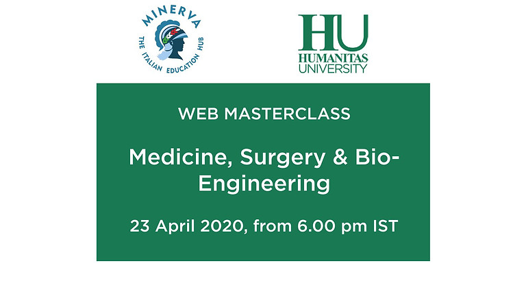 Webinar by Humanitas University on studying Medicine and Medtec programme, from Italy