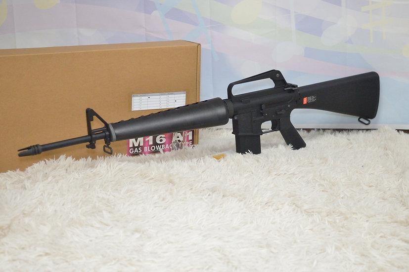 【 ガスガン 】WE M16A1 AR15 リアル刻印 オープンボルト 日本仕様