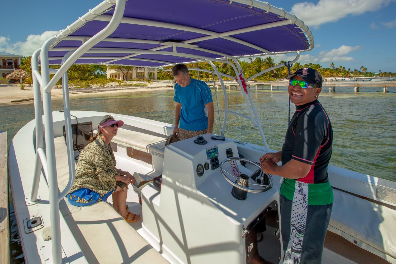 Pick-up  at BajaMar dock for tour
