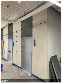 Commercial Lobby With 1mx3m Porcelain Panels