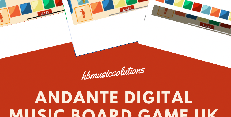 Andante Digital Interactive Board Game UK Version