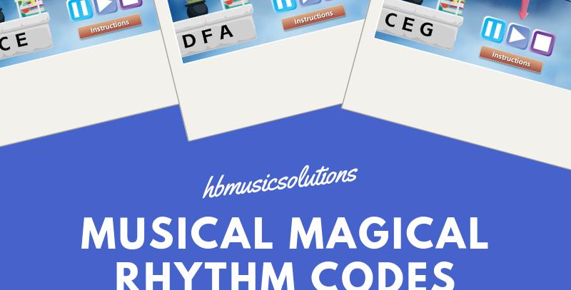 Musical Magical Rhythm Codes