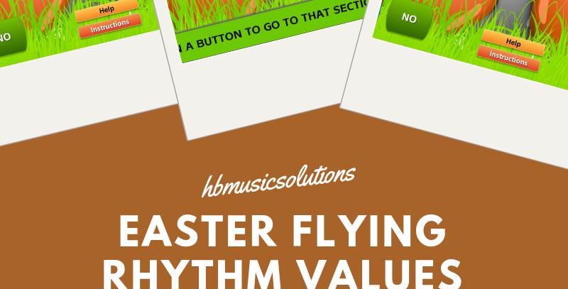 Easter Flying Rhythm Values