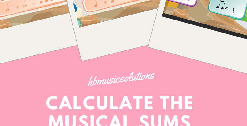 Calculate The Musical Sums US Version Interactive Game
