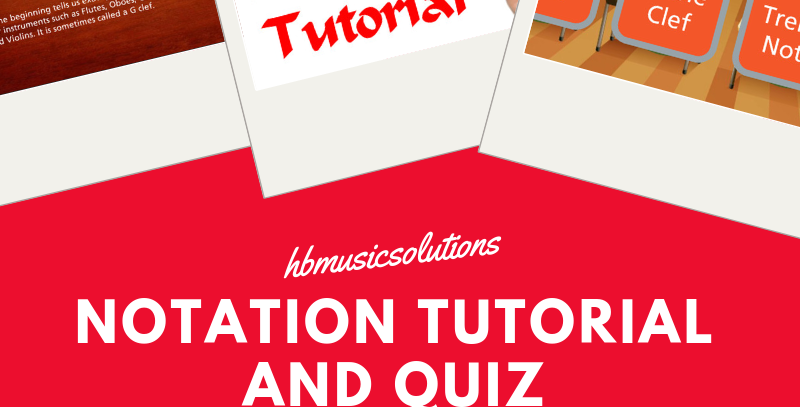 Notation Tutorial And Quiz