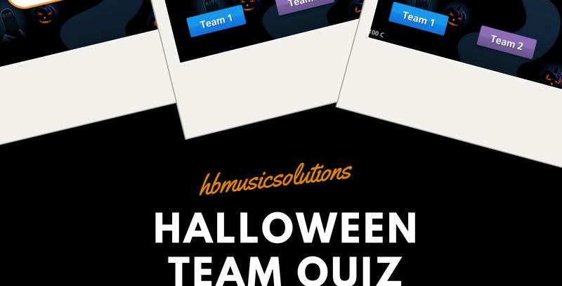 Halloween Interactive Team Quiz UK