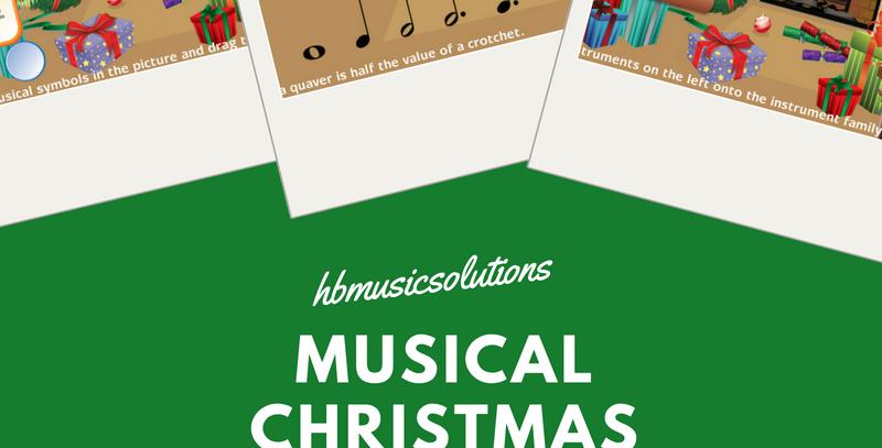 Musical Christmas Interactive Games