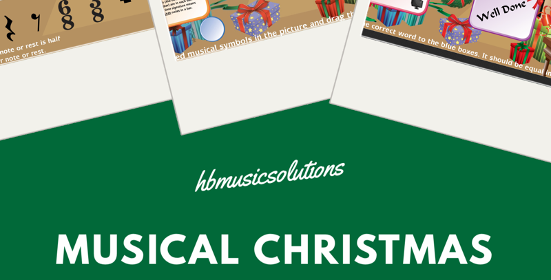 Musical Christmas US Version Interactive Games