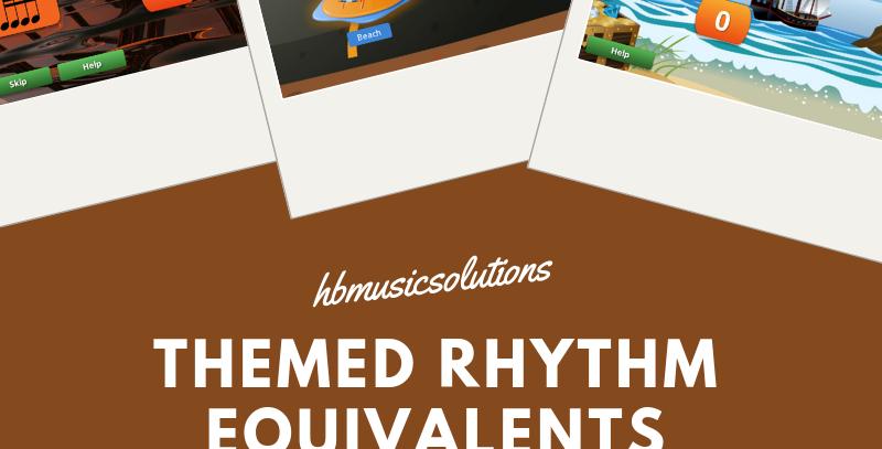 Themed Rhythm Equivalents