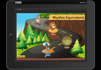 Rhythm is an exciting interactive music game resource designed to reinforce rhythm equivalents.