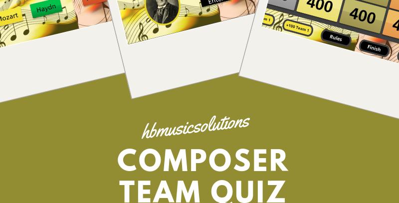 Composer Interactive Team Quiz