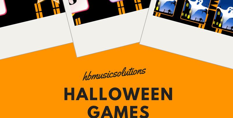 Halloween Music Games