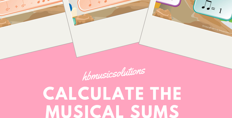 Calculate The Musical Sums