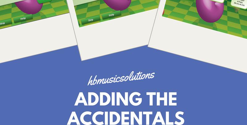 Adding The Accidentals Interactive Module