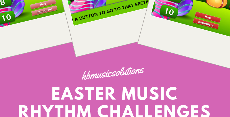 Music Easter Rhythm Challenges