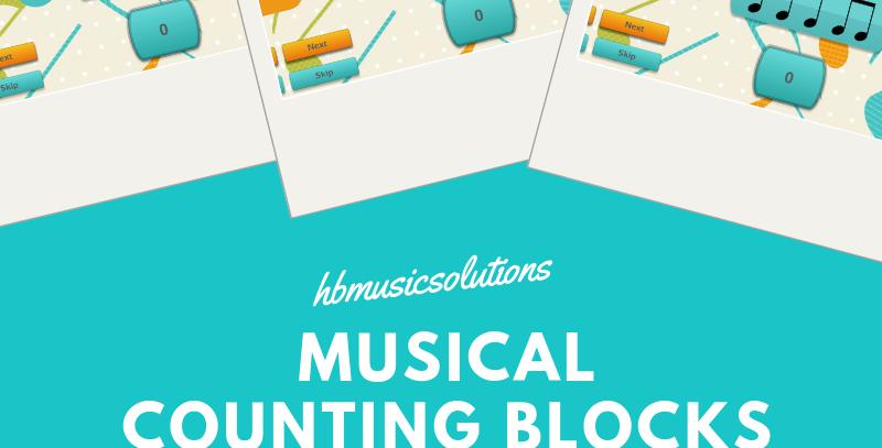 Musical Counting Blocks