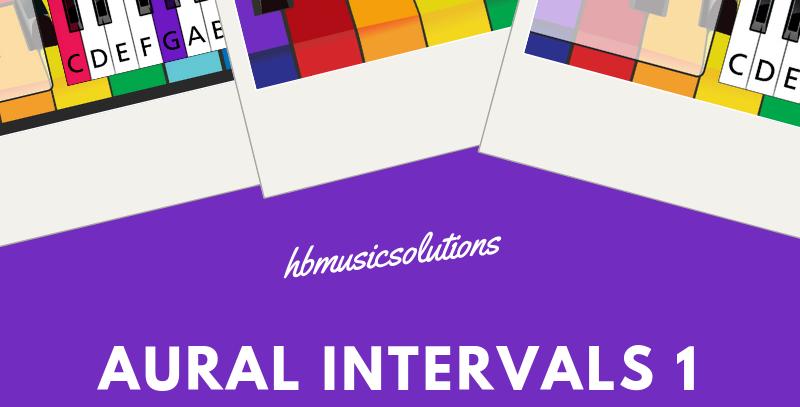 Aural Intervals 1 Interactive Module