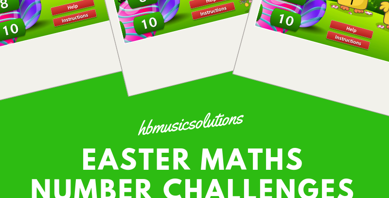 Easter Maths Number Challenges