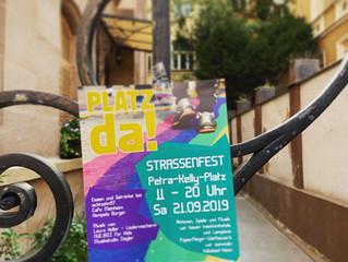 Straßenfest am Petra-Kelly-Platz