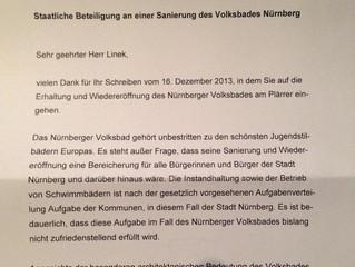 Briefwechsel mit Minister Dr. Söder