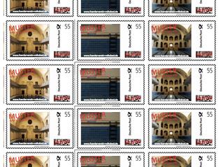 Briefmarken mit Volksbad-Motiven
