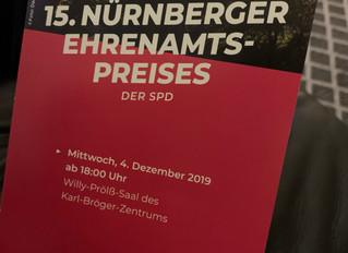 Ehrenamtspreis der Nürnberger SPD