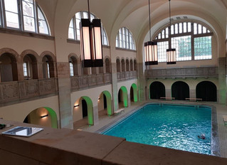 Besuch im Bad in der Oderberger Strasse Prenzlauer Berg/Berlin