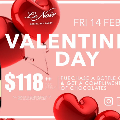 Make Valentines Night Special At Le Noir MBS