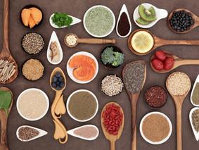 Die optimalen Nahrungsmittel für Kohlenhydrat- u. Eiweiß-Typ