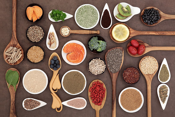 Superfoods, Herbs & Spices Healthy Food