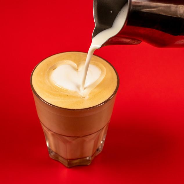 Honey bunn (a latte with honey)