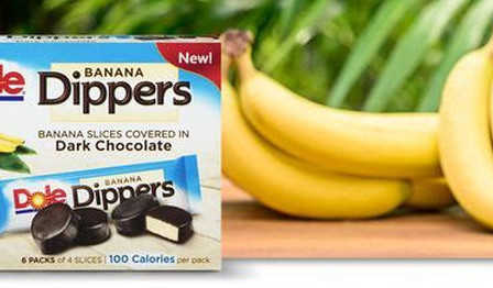 A Frozen Treat Review: Dole Banana Dippers