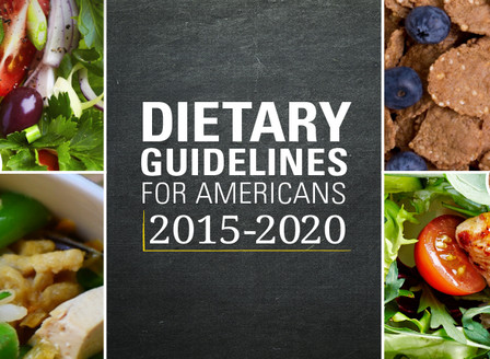 2015-2020 New Dietary Guidelines for Americans