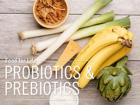 Prebiotics vs. Probiotics