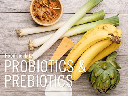 Prebiotics vs. Probiotics
