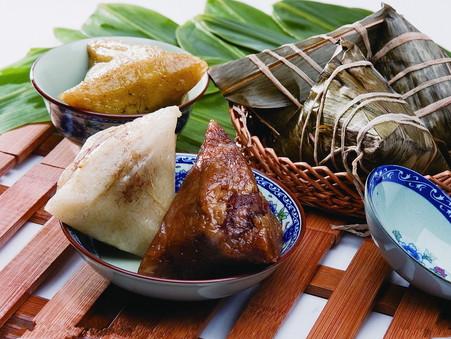 Enjoying the Food of the Dragon Boat Festival