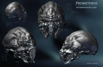 外星生物角色概念設計