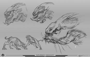 生物角色概念設計