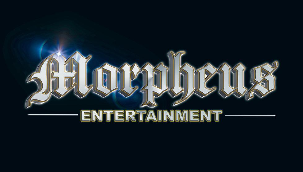 NEW DJ MORPHEUS LOGO CHROME PROJ black.j